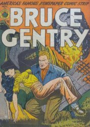 Superior Comics's Bruce Gentry Issue # 2