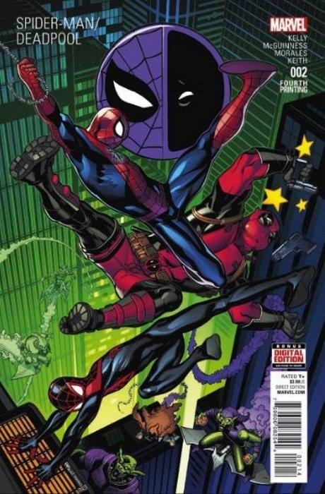 Spiderman Deadpool #1 6th Print Variant