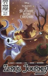 Tokyo Pop/Mixx's Tim Burton's Nightmare Before Christmas: Zero's Journey Issue # 17