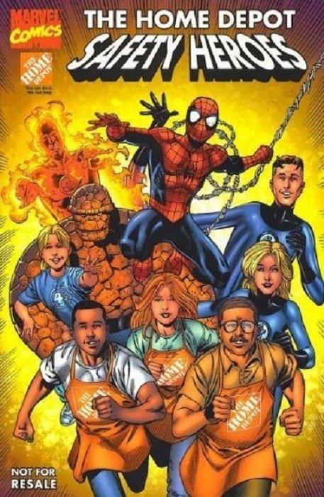 Marvel Home Depot Safety Heroes