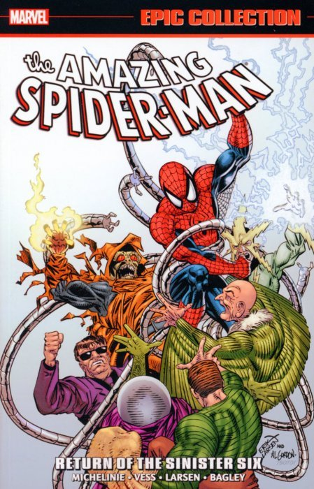 The Amazing Spider Man Epic Collection TPB 21s Cover Image