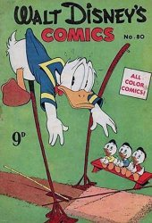 W.G.(Wogan)Publications's Walt Disney's Comics Issue # 80