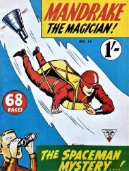 L. Miller & Son's Mandrake the Magician Issue # 14