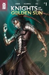 Mad Cave Studios's Knights of the Golden Sun Issue # 1 - 2nd print