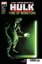 Marvel Comics's The Immortal Hulk: Time of Monsters Issue # 1