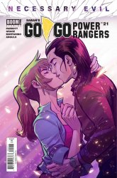 BOOM! Studios's Saban's Go Go Power Rangers Issue # 21 - 2nd print