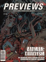 Diamond Comics Distribution's Previews Issue # 111