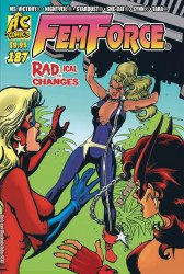AC Comics's Femforce Issue # 187
