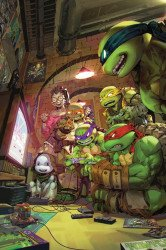 IDW Publishing's Teenage Mutant Ninja Turtles Issue # 102big time