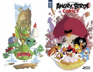 IDW Publishing's Angry Birds Comics Issue # 12