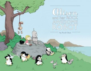 Action Lab Entertainment's Alison and her Rock Awesome Robot Soft Cover # 1