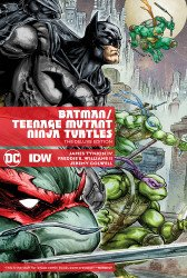 DC Comics's Batman / Teenage Mutant Ninja Turtles Hard Cover # 1b