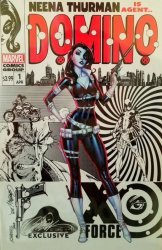 Marvel Comics's Domino Issue # 1re campbell-c