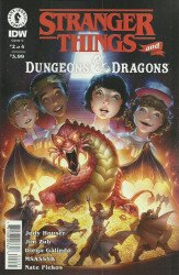 Dark Horse Comics's Stranger Things and Dungeons & Dragons Issue # 2c