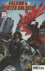 Marvel Comics's Falcon & Winter Soldier Issue # 1d