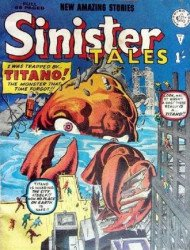 Alan Class & Company's Sinister Tales Issue # 1