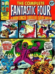 Marvel UK's Complete Fantastic Four Issue # 8