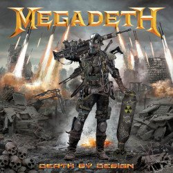 Heavy Metal's Megadeth Death By Design Hard Cover # 1
