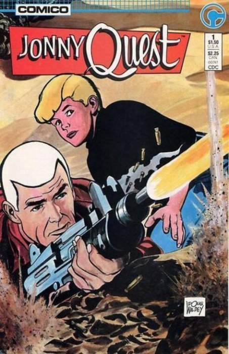 Book Cover Craft Quest : Jonny quest comico comicbookrealm