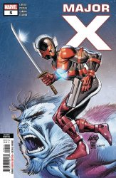 Marvel Comics's Major X Issue # 5 - 2nd print