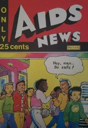 EducationComics Inc's Aids News Issue # 1b