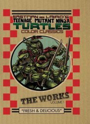 IDW Publishing's Teenage Mutant Ninja Turtles: The Works Hard Cover # 1