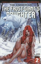 Ablaze Media's Cimmerian: Frost-Giant's Daughter Issue # 2b