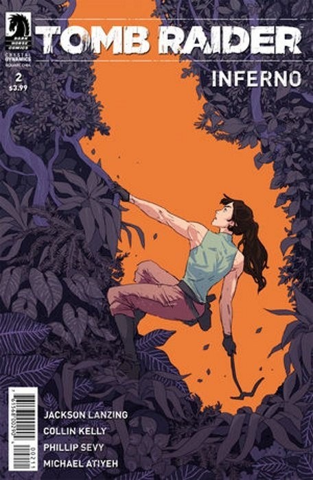 Tomb Raider Inferno #2 Dark Horse Comics 1st Print 2018 unread NM