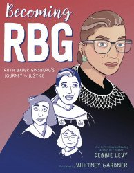 Simon & Schuster's Becoming RBG Hard Cover # 1