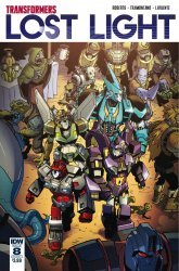 IDW Publishing's Transformers: Lost Light Issue # 8