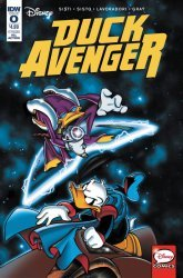 IDW Publishing's Duck Avenger Issue # 0