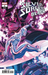 Marvel Comics's Silver Surfer: Black Issue # 1d