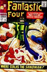 Marvel Comics's Fantastic Four Issue # 61