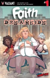 Valiant Entertainment's Faith: Dreamside Issue # 1nycc