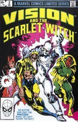 Marvel Comics's Vision and the Scarlet Witch Issue # 2