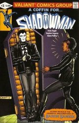 Valiant Entertainment's Shadowman Issue # 3larrys