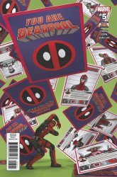 Marvel Comics's You Are Deadpool Issue # 5