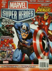 Redan's Marvel Super Heroes Magazine Issue # 22