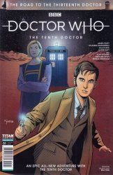 Titan Comics's Doctor Who: The Road To The 13th Doctor Issue # 1sdcc