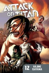 Kodansha Comics's Attack on Titan Soft Cover # 12