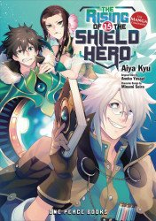 One Peace Books's Rising of the Shield Hero: Manga Companion Soft Cover # 15