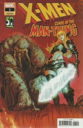 Marvel Comics's X-Men: Curse of the Man-Thing Issue # 1b