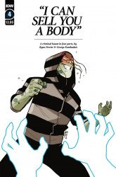 IDW Publishing's I Can Sell You a Body Issue # 4