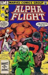 Marvel Comics's Alpha Flight Issue # 2
