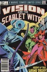 Marvel Comics's Vision and the Scarlet Witch Issue # 1b