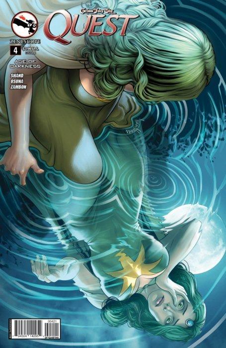 4B cover Grimm Universe #4 Grimm Fairy Tales Presents Dark One ~ Zenescope