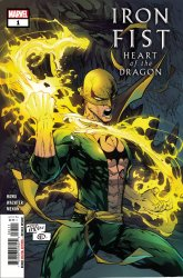 Marvel Comics's Iron Fist: Heart of the Dragon Issue # 1