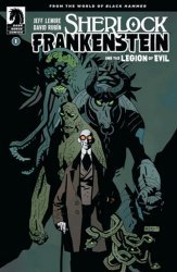 Dark Horse Comics's Sherlock: Frankenstein and the Legion of Evil Issue # 1b