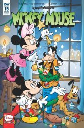 IDW Publishing's Mickey Mouse Issue # 15ri
