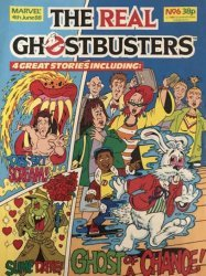Marvel UK's The Real Ghostbusters Issue # 6